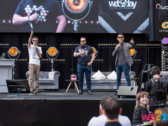 Web2Day - Les Nefs Nantes - 2017 (photo : Web2Day)